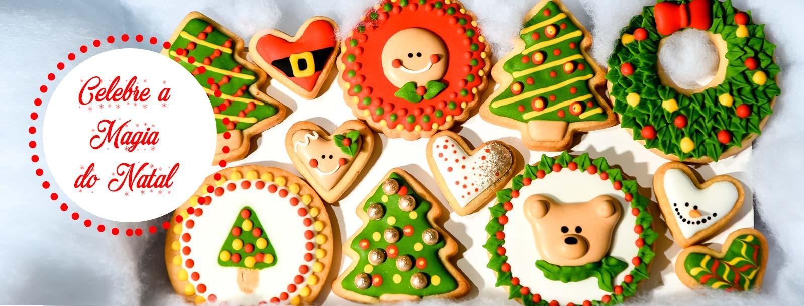 Artigos de Natal Cake Design