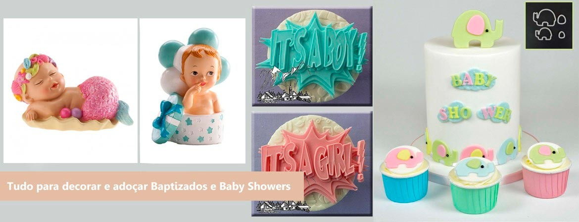 Slide Baptizados e Baby Showers