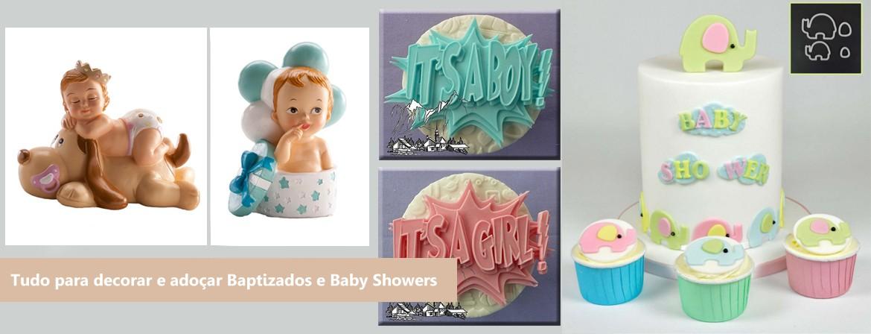 Slide Baptizados e Baby Showers